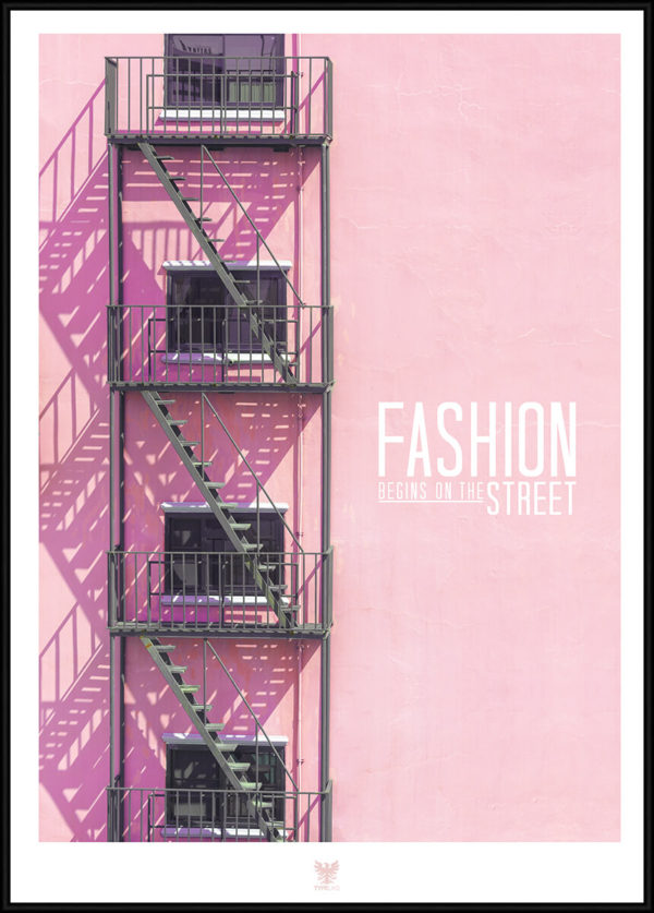 Fashion Streets citatplakat