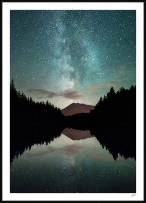 milky way plakat